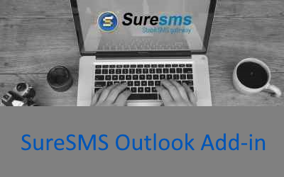 SureSMS sms Outlook Add-in